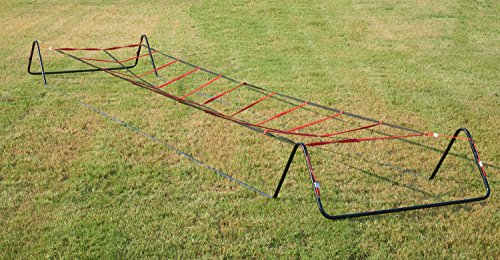 Unlimited Potential Metal High Jumping Ladder Fully Collapsible Agility Training