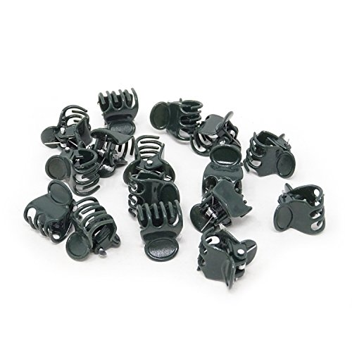 Orchid Clip Medium (HONBAY 100PCS Dark Green Orchid Clips Tiny Plastic Plant Clips Orchid Support Clips for Supporting Stems, Vines, Stalks to Grow Upright)