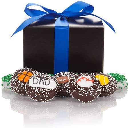 One Dozen Sport Themed Fathers Day Oreo Cookies Gift Box