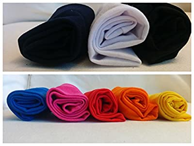 Cosmos Stretchy Cotton Yoga Headband, 8 Piece