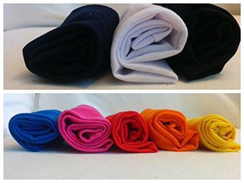 "Cosmos® 8 Pcs 2.5"" Stretchy Cotton Yoga Headband"