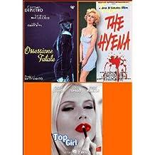 joe d'amato 4 - ossessione fatale / the hyena / top girl box set dvd Italian Import