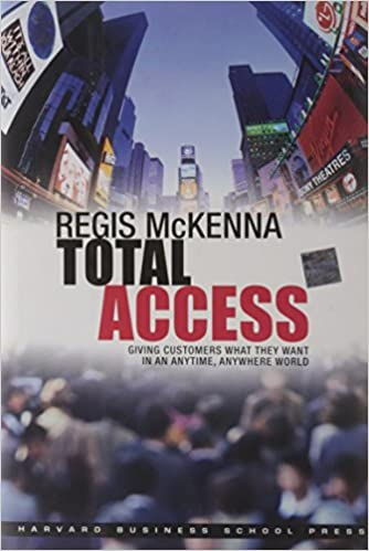 """Marketing as we know it is disappearing"" – Regis McKenna, Total Access"