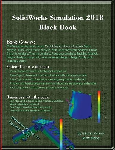 SolidWorks Simulation 2018 Black Book by CADCAMCAE Works