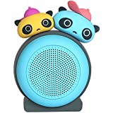 Momoho Cartoon Bluetooth Wireless Speaker for Kids,Bookshelf Mini Speaker, Streaming Music Player, Panda Shape, 5H Playback time, Louder Stereo Sound, Built-in-Mic Speakerphone, Gift for Home Office