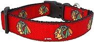 NHL Unisex NHL Chicago Blackhawks Dog Collar