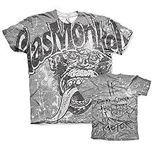Officially Licensed Merchandise Gas Monkey Garage Allover T-Shirt (Multicoloured)