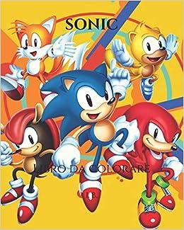 Amazon In Buy Sonic Libro Da Colorare Sonic Da Colorare Libro Di Sonic Sonic Mania Book Online At Low Prices In India Sonic Libro Da Colorare Sonic Da
