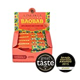 Aduna Organic Baobab Raw Energy Bar 45g (pack of 16) (1 pack) Review