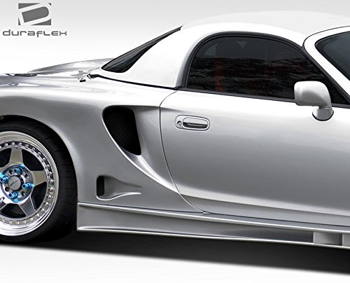 Duraflex Replacement for 2000-2005 Toyota MRS MR2 Spyder TD3000 Wide Body Rear Fenders 2 Piece