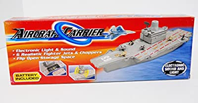 """18"""" Aircraft Carrier Play Set with Electronic Light & Sound"""