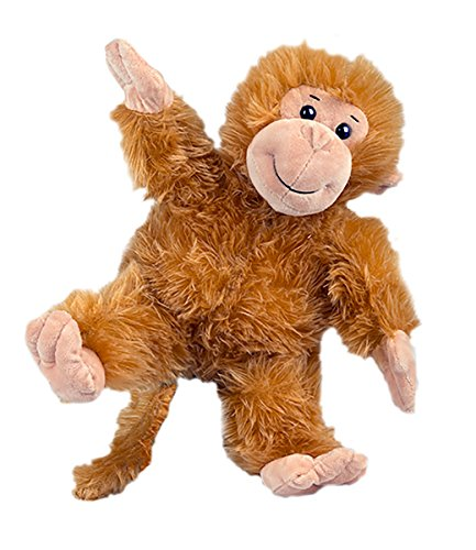 Stuffems Toy Shop Record Your Own Plush 16 inch The Monkey - Ready to Love in A Few Easy Steps