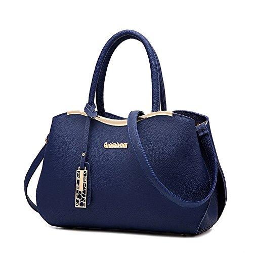 borsa Donna Handbag a Borsa Shoulder con Borse Bag Blu Bag tasche G Mutil Tote mano AVERIL a scuro Spalla w5ItqB1S