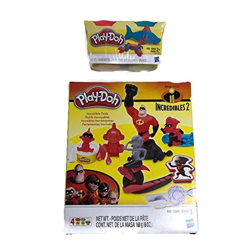 【5%OFF】 Trebor's Goods ディズニー/ ピクサー インクレディブル B07Q69X96R クレイプレイセットキット ツール2個と追加の粘土付き ディズニー ピクサー B07Q69X96R, ケセンヌマシ:f8dd6072 --- pmod.ru