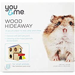 You & Me Large Wood 2-Story Hamster House