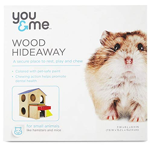 You & Me Large Wood 2-Story Hamster -