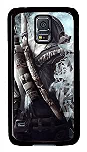 Japanese Ninja Black Hard Case Cover Skin For Samsung Galaxy S5 I9600