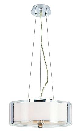 amazon trans globe照明2092 pcオパールクロム14 高さ調節可能