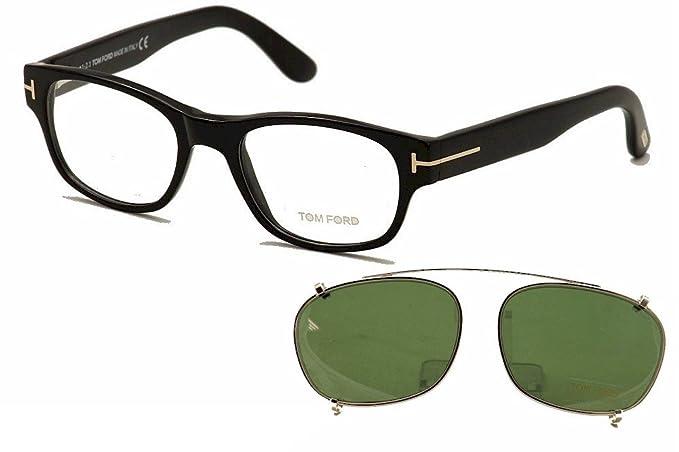 Tom Ford TF 5276 001 51 Shiny Black Eyeglasses  Amazon.ca  Watches 48ec6e11bd9b
