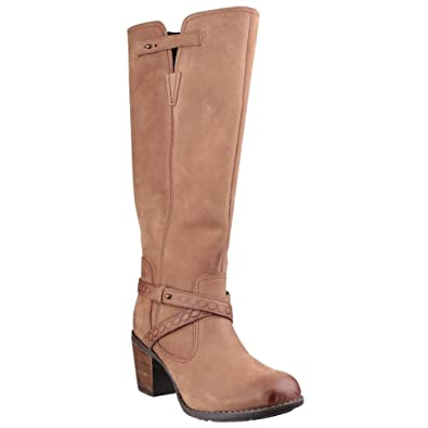 f414e364d27 Hush Puppies Women's Gussie Moorland Leather Boots in Tan