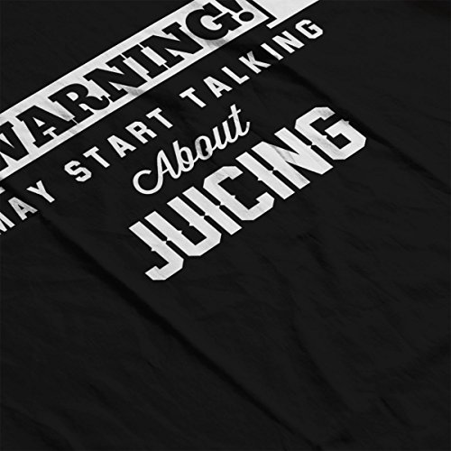 Women's Black Warning About Sweatshirt May Juicing Coto7 Start Talking aWYCfq8q