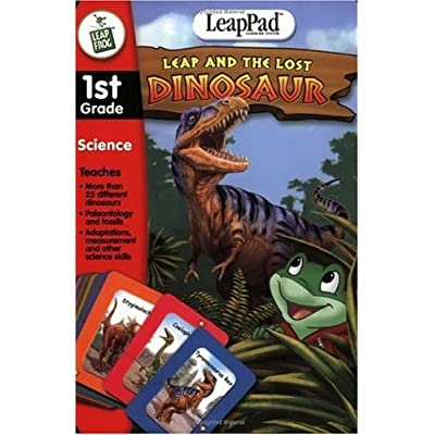 1ST GR LEAP AND THE LOST DINOSA: Toys & Games