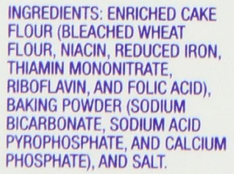 Amazon.com : Presto Self Rising Cake Flour, 32-Ounce Box : Grocery & Gourmet Food