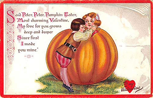 Valentines Day Post Card Old Vintage Antique Raphael Tuck & Sons Writing on back