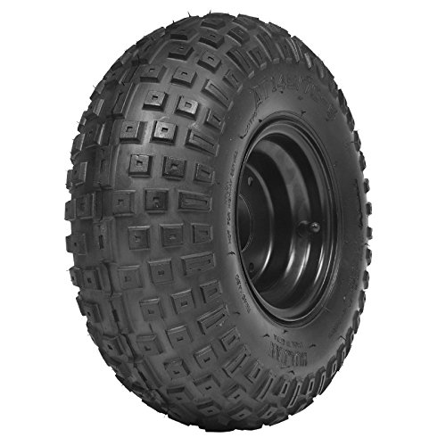 HAIGE 四輪バギー ATV ブラックホイール付タイヤ 6インチ 145/70-6 HG-TH013 D B01A5976E8