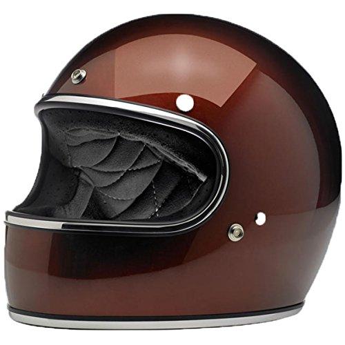 Biltwell Gringo Solid Full-face Motorcycle Helmet - Flat Chocolate / Medium -