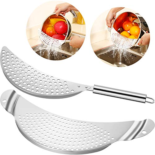 2 Pieces Pot Strainer