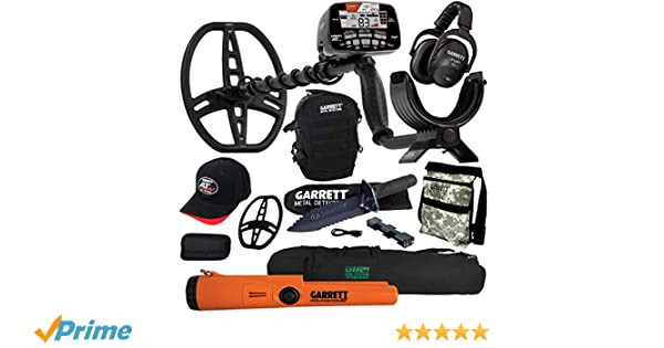 Amazon.com : Garrett AT MAX Metal Detector with MS-3, Pro-Pointer AT, Carry Bag & More : Garden & Outdoor