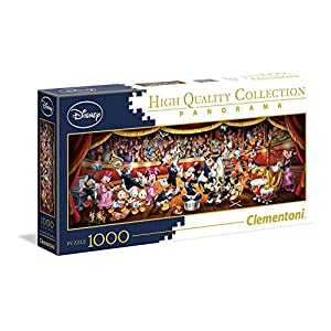 Clementoni Disney Panorama Collection Orchestra Puzzle 1000 Pezzi 39445