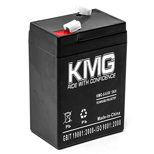 KMG 6V 5Ah Replacement Battery for Baxter Healthcare 522 821 MICROATE INF PUMP