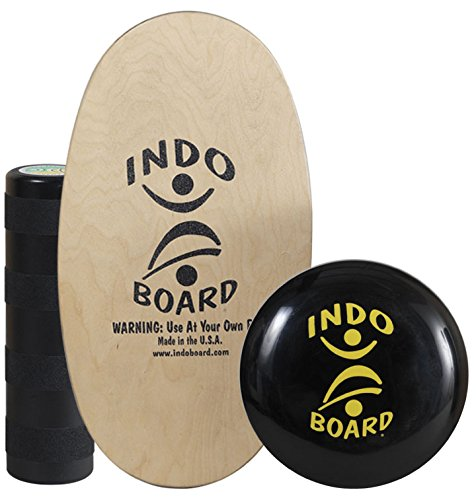 Indo Board Balance Board Mini Original Training Kit for Kids - Balance Board, Roller and Cushion by Indo Board Balance Trainers