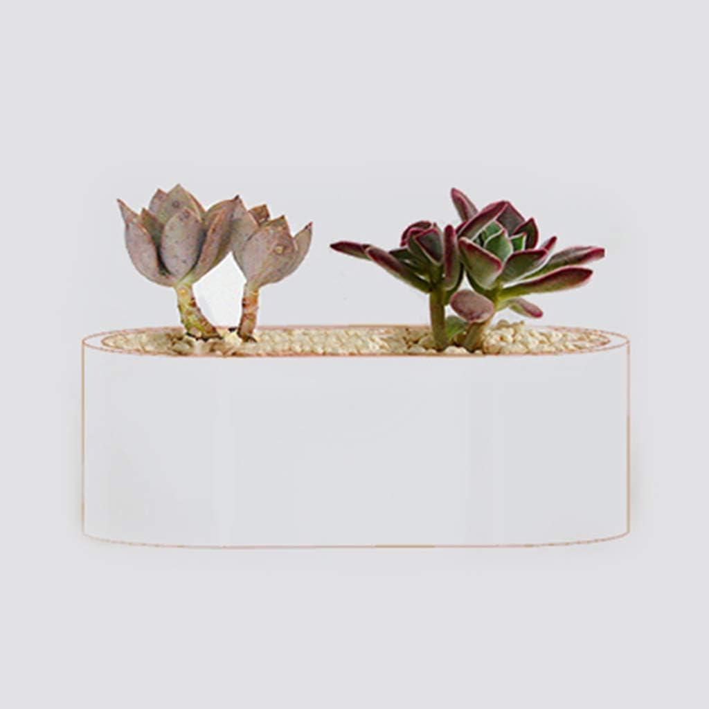 jiheousty Handmade 3D Silicone Candela Sapone Vaso da Fiori Stampo Casting Coppa in calcestruzzo Stampo Craft Fai da Te