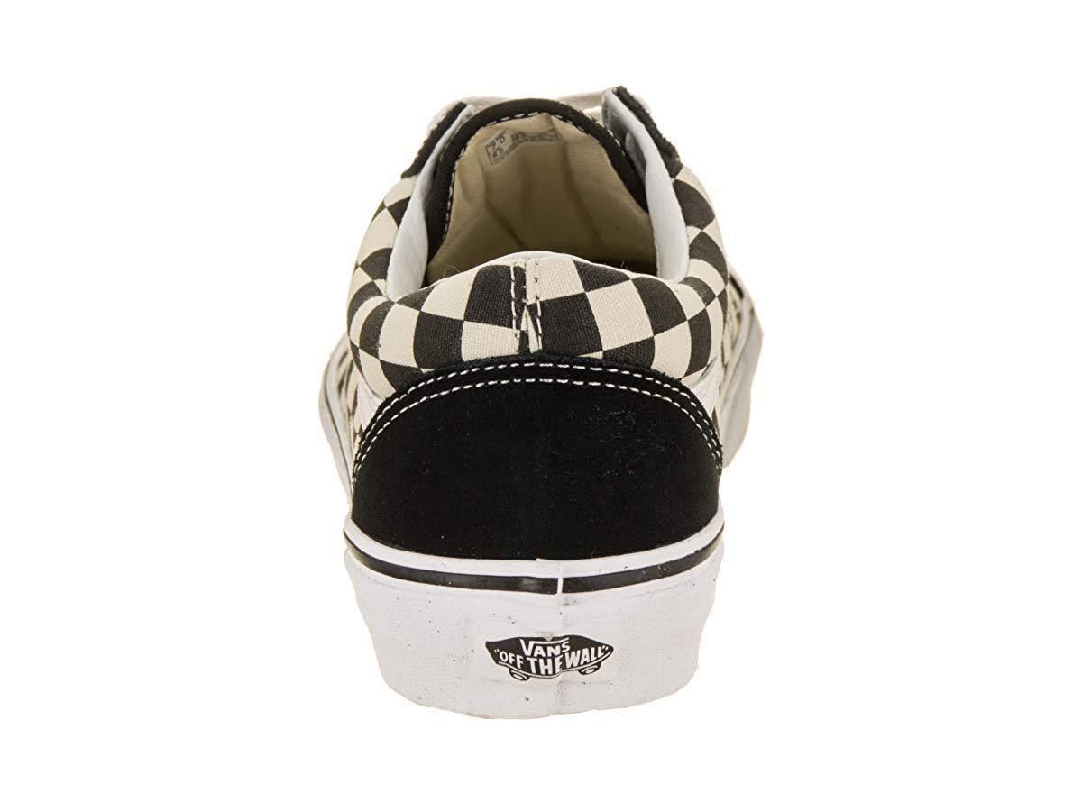 Vans Old Skool (Primary Check) Skate Shoes (4.5 US Men/ 6 US Women) by Vans (Image #3)