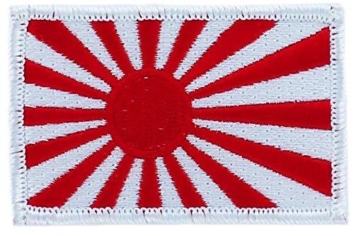 Patch Aufnäher bestickt Flagge Japan Japanisch Rising Sun Kamikaze zum Aufbügeln