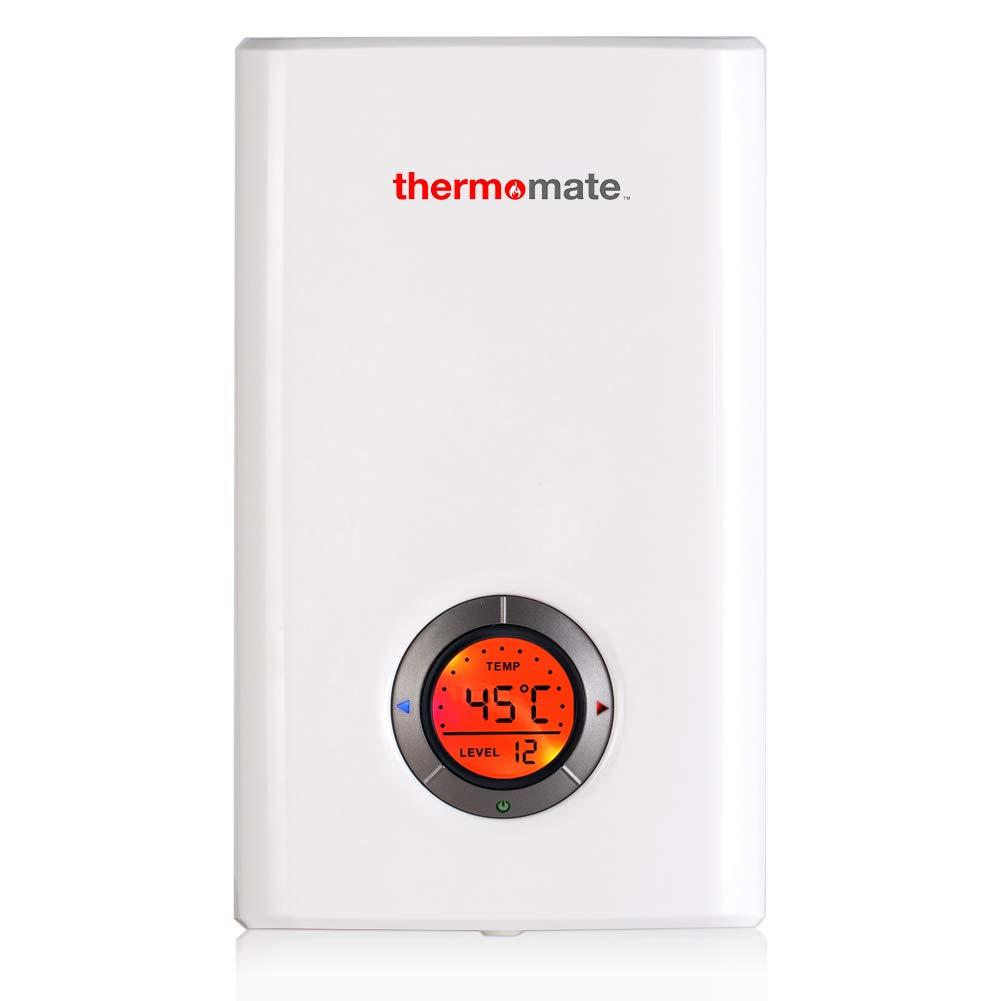 Thermomate ELEX12 240V 12,0kW Chauffe-Eau Instantané Électrique, Contrôle de l'écran Tactile LCD 0kW Chauffe-Eau Instantané Électrique Contrôle de l'écran Tactile LCD