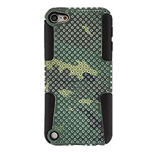 Camouflage Design Pattern Detachable Hard Case for iPod Touch 5