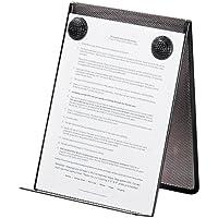Rolodex Nestable Wire Mesh Freestanding Desktop Copyholder Stainless Steel Black
