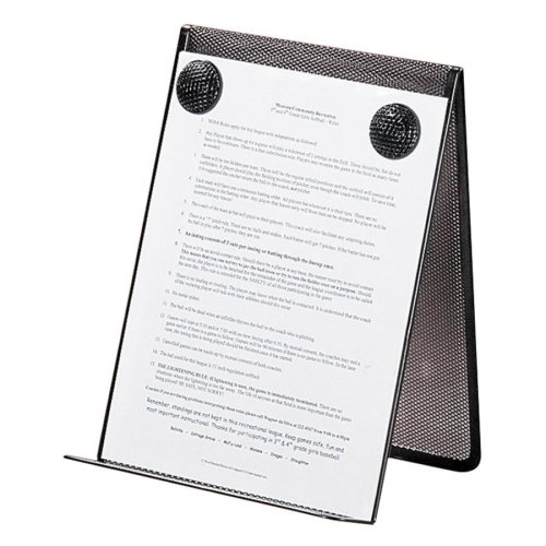 Wholesale CASE of 25 - Rolodex Wire Mesh Document Holder-Document Holder, Mesh Steel, 9