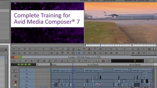 Class on Demand Online Streaming Educational Training Tutorial for Avid Media Composer 7 with Don Lampasone - Tutorial Dvd Composer
