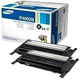 Samsung CLT-P4092B Cartouche de toner Pack de 2 Noir