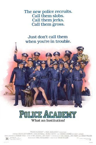 Police Academy POSTER Movie (27 x 40 Inches - 69cm x 102cm) (1984) (Style B)