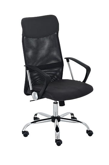 Bürostuhl ergonomisch höhenverstellbar  CLP Bürostuhl WASHINGTON, Schreibtischstuhl, Drehstuhl, Netzstoff ...