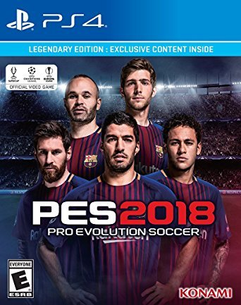 Pro Evolution Soccer 2018: Legendary Edition - Playstation 4