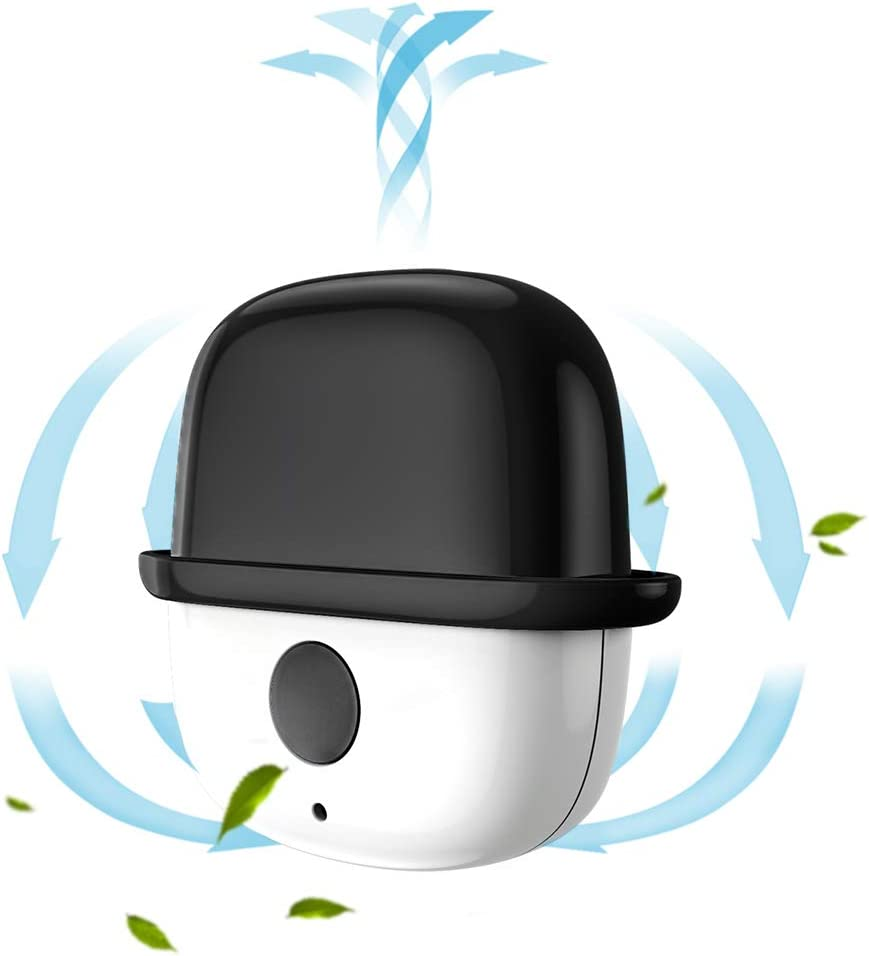 Purificatori daria portatili personale a bassa rumorosit/à elimina gli odori generatore di ioni negativi della collana indossabile USB mini ionizzatore portatile per adulti e bambini