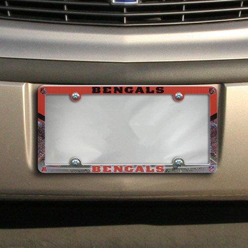 NFL Cincinnati Bengals Stadium Plastic License Plate Frame