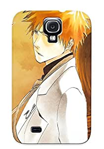 Ideal Gift - Tpu Shockproof/dirt-proof Anime Bleach Cover Case For Galaxy(s4) With Design